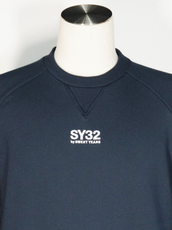 SY32 by SWEET YEARS「WORLD STAR P/O CREW」NAVY