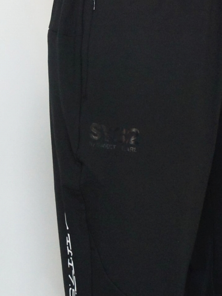 SY32 by SWEET YEARS「MODAL SWEAT PANTS」BLACK