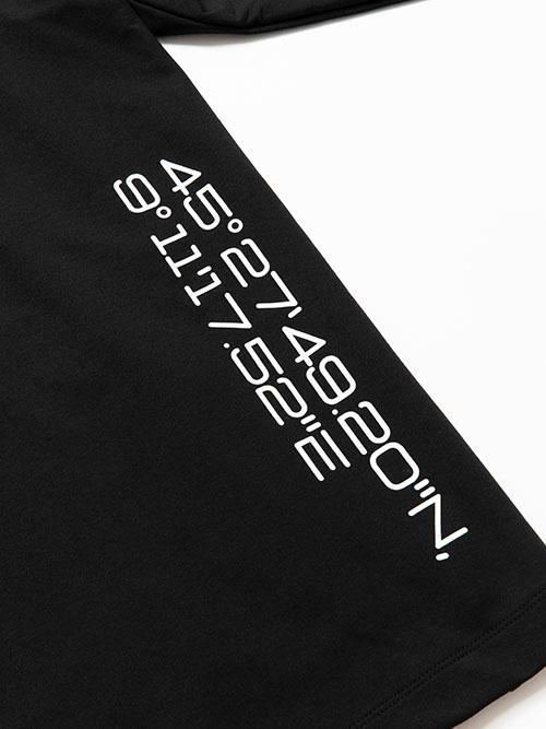 SY32 by SWEET YEARS「MODAL SWEAT HOODIE」BLACK
