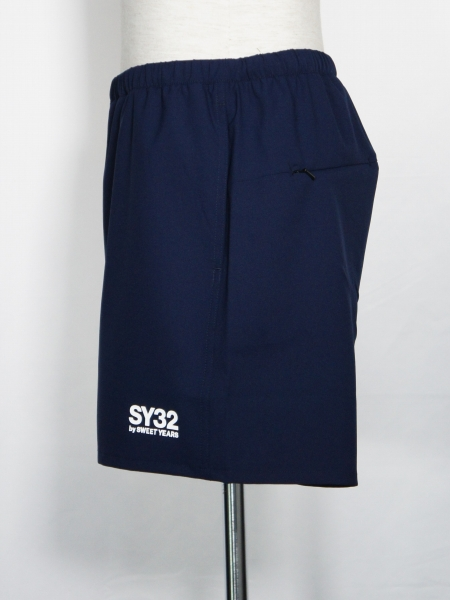 SY32 by SWEET YEARS「ATHLETIC SHORT PANTS」NAVY