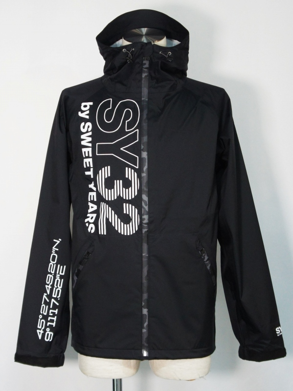SY32 by SWEET YEARS「PACKABLE MOUNTAIN PARKA」 BLACK