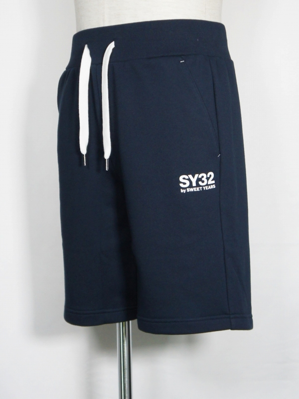 SY32 by SWEET YEARS「SWEAT SHORT PANTS」NAVY