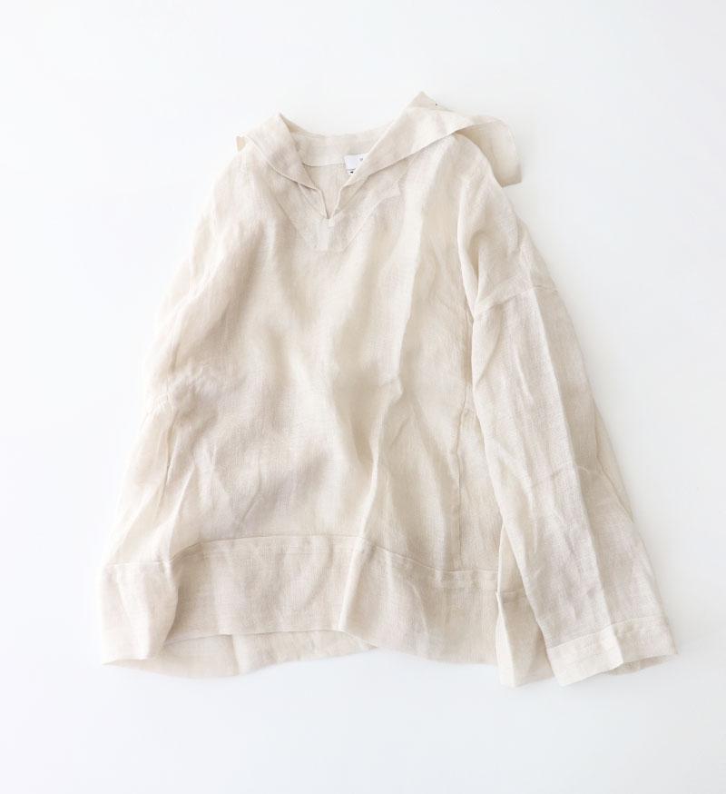 ※Special Edition※<br> LTD-008 Gauze Sailor Color Blouse