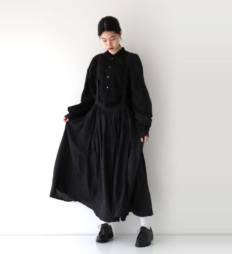 ※Veritecoeur online 限定※<br> NT-031 ダブルカラーピンタックプルオーバー / SUMIKURO