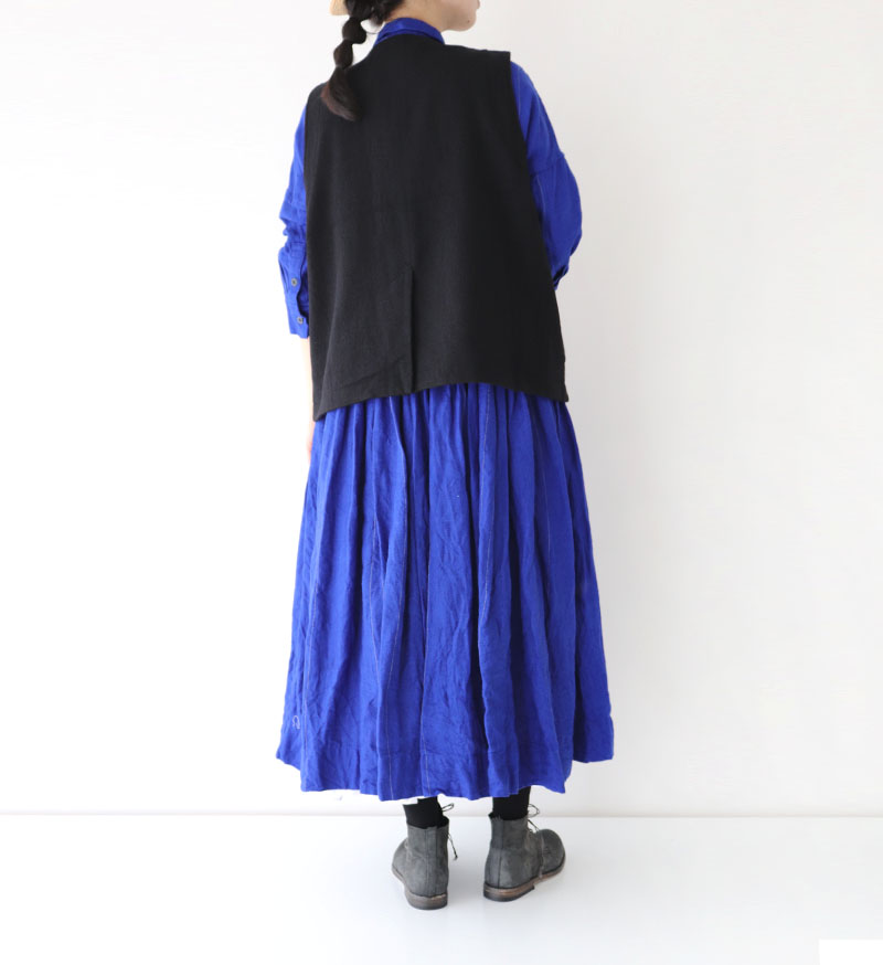 ※Special Edition※<br>SP-1E 切替ギャザーワンピース / R.BLUE ST
