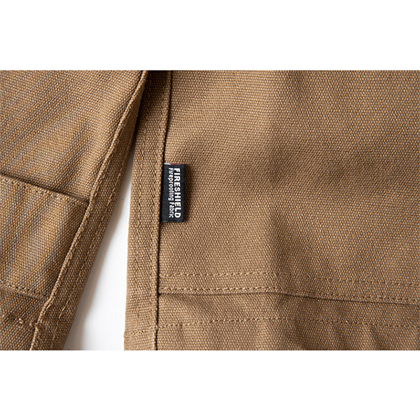 Grip Swany グリップスワニー Fireproof Camp Parka Coyote