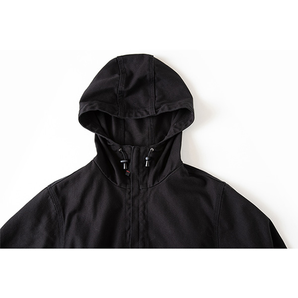 Grip Swany グリップスワニー Fireproof Camp Parka Black