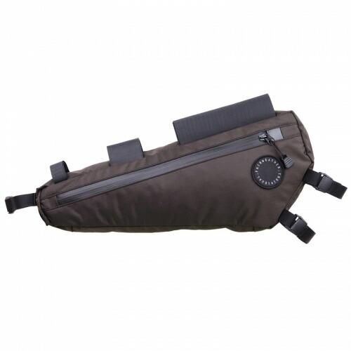 FAIRWEATHER フェアウェザー half frame bag brown