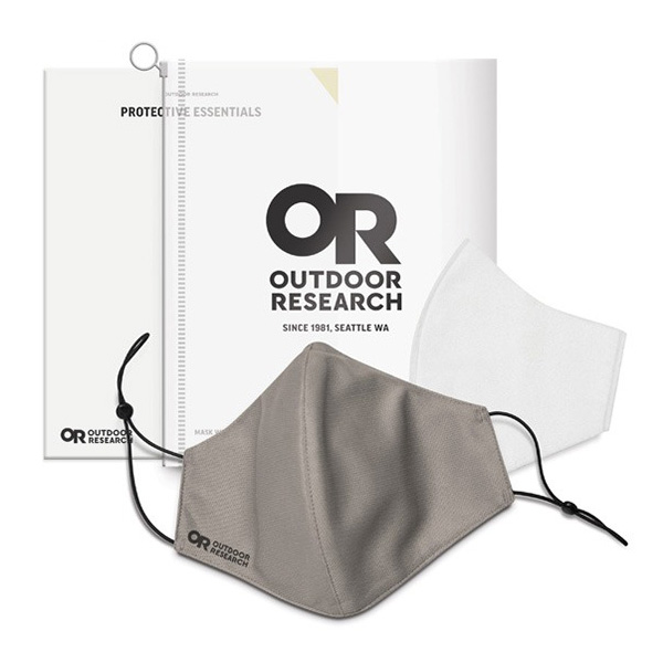 OUTDOOR RESEARCH アウトドアリサーチ Essential Face Mask Kit grey