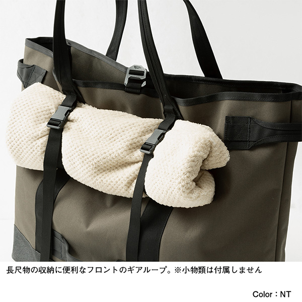 THE NORTH FACE ノースフェイス Fieludens Gear Tote M ニュートープグリーン (NT)