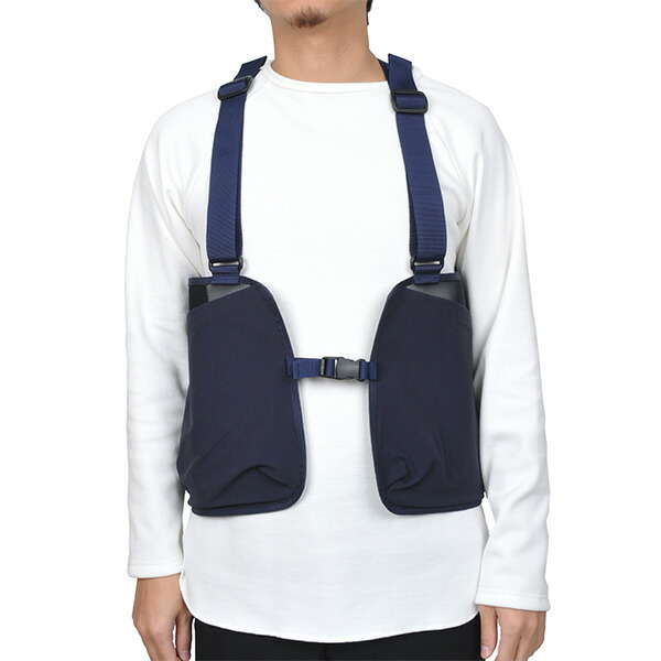【30%OFFセール】 halo commodity ハローコモディティ Bay Stock Vest Navy