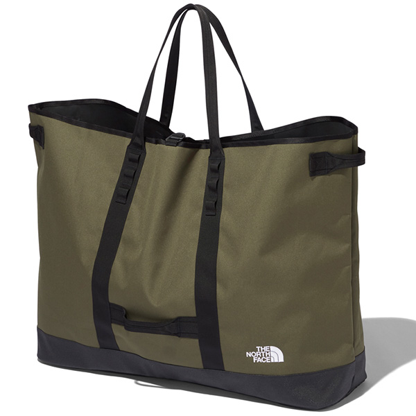 THE NORTH FACE ノースフェイス Fieludens Gear Tote L ニュートープグリーン (NT)
