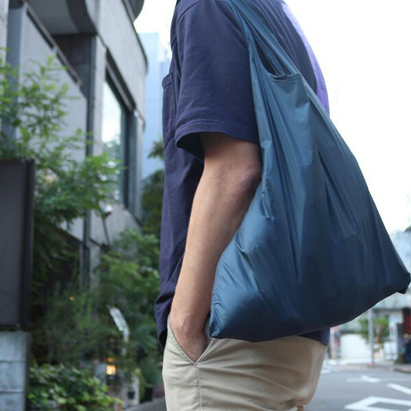 NANGA ナンガ Nanga Pocketable EcoBag BLK