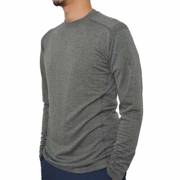 Teton Bros. ティートンブロス Power Wool Grid L/S Gunmetal