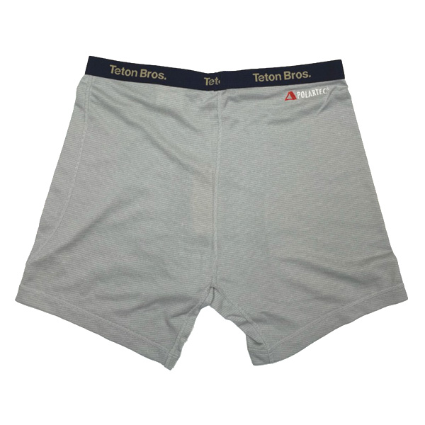 Teton Bros. ティートンブロス Power Wool Lite Trunks Light Gray