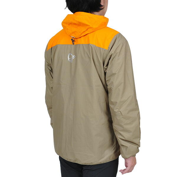 【30%OFFセール】 NORRONA ノローナ Mens Bitihorn dri1 Jacket Orange Crush