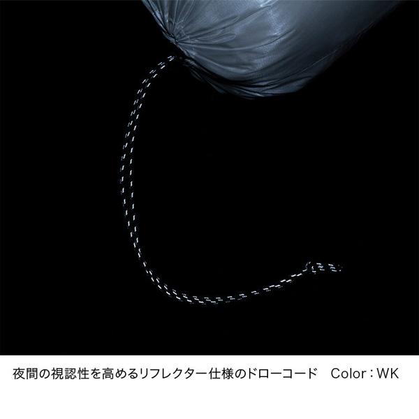 THE NORTH FACE ノースフェイス Pertex Stuff Bag 3L ホワイト×ブラック (WK)