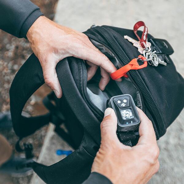 EVERGOODS エバーグッズ Civic Half Zip 22L Black