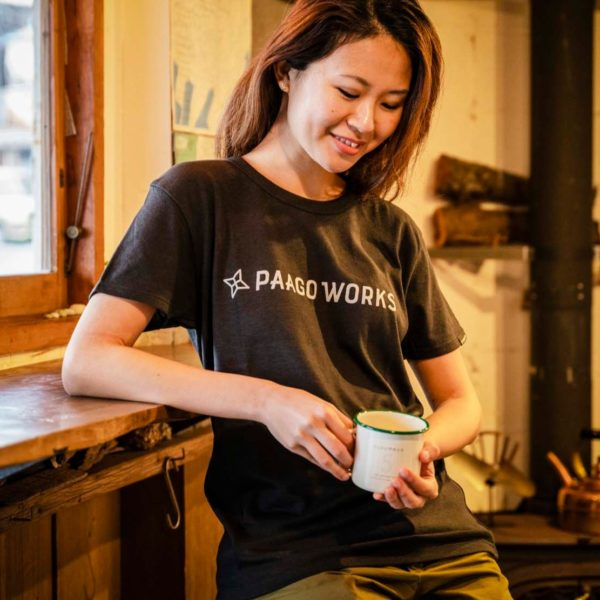 PaaGoWORKS パーゴワークス ロゴTシャツ グレー