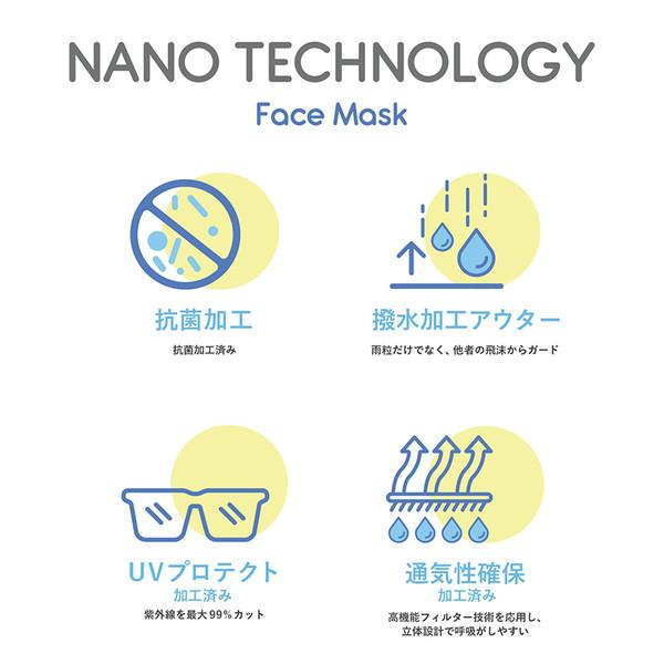 【30%OFFセール】 洗える70億人のマスク マスク アウトドアマスク BLACK FADE