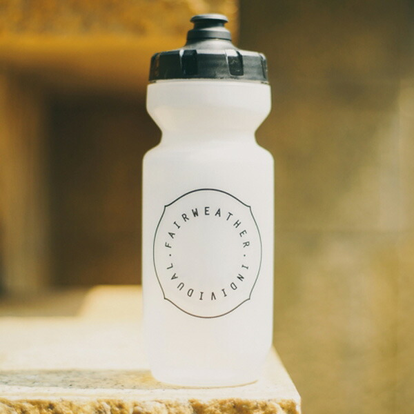FAIRWEATHER フェアウェザー water bottle clear