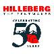 HILLEBERG ヒルバーグ HILLEBERG 50th デカールステッカー 黒