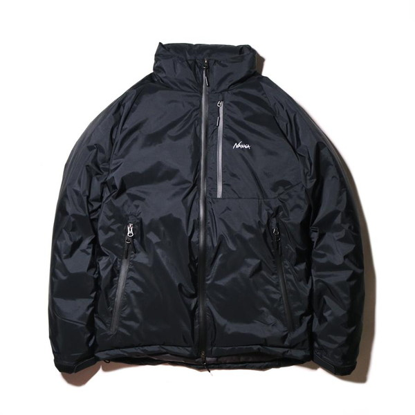 NANGA ナンガ Aurora Stand Collar Down Jacket BLK