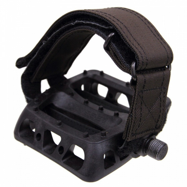 FAIRWEATHER フェアウェザー pedal strap brown