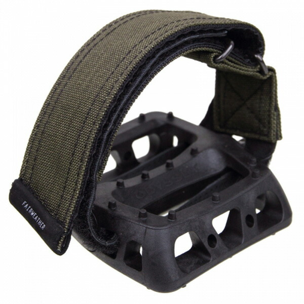 FAIRWEATHER フェアウェザー pedal strap olive