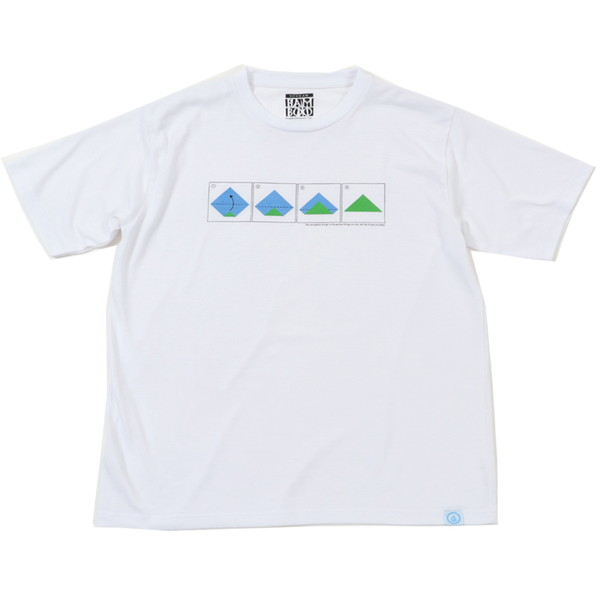 【30%OFFセール】 BAMBOO SHOOTS バンブーシュート Mountain Tee White