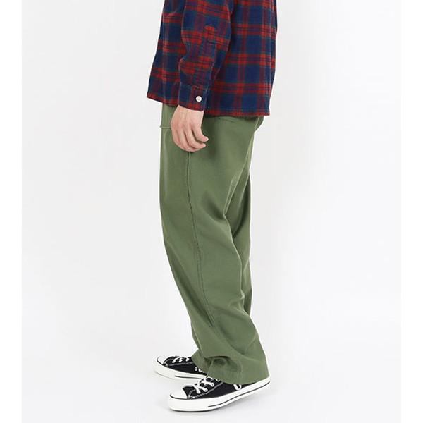 【30%OFFセール】 BAMBOO SHOOTS バンブーシュート Fatigue Trouser W/Sec Pocket Olive