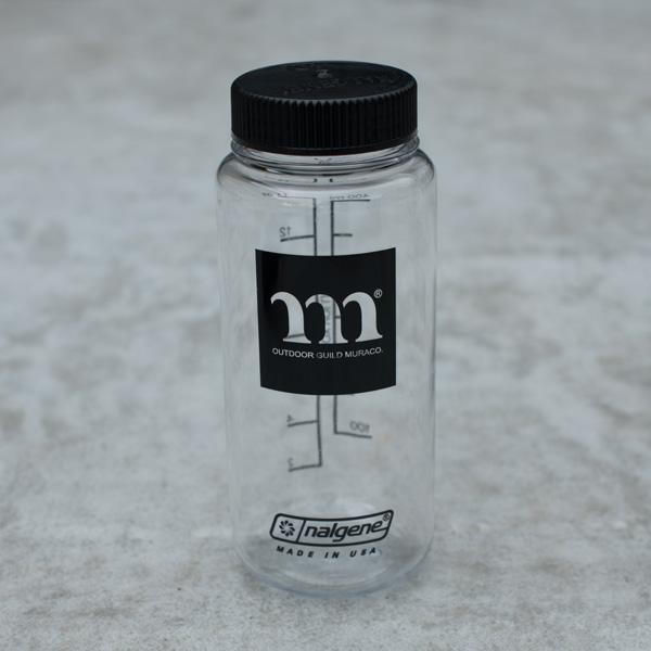 MURACO ムラコ NALGENE 広口0.5L TRITAN フラットキャップクリア