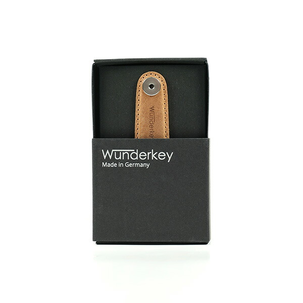 【40%OFFセール】 Wunderkey ワンダーキー Wunderkey Leather Caramel
