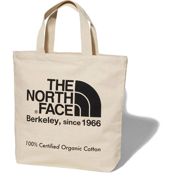THE NORTH FACE ノースフェイス TNF Organic Cotton Tote ナチュラル × ブラック (K)