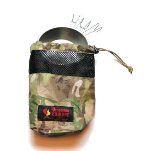 Oregonian Camper オレゴニアンキャンパー メスティンポーチ L カモ×ブラック