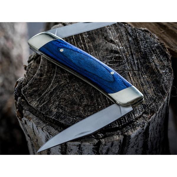 NoBox ノーボックス ダブルブレードウィットラーナイフ ブルー