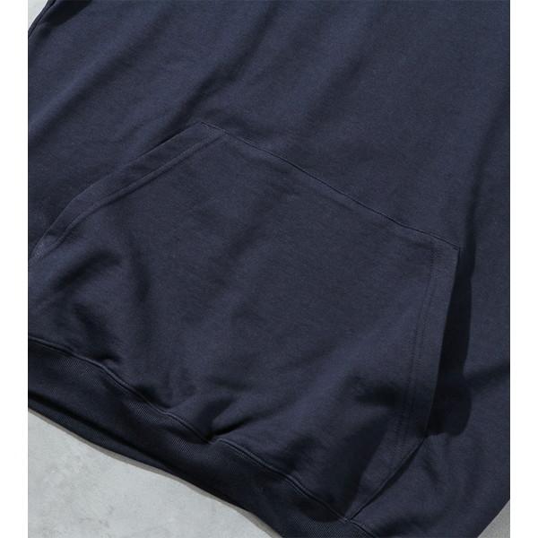 【30%OFFセール】 BAMBOO SHOOTS バンブーシュート Active Pullover Hooded Sweatshirt Navy
