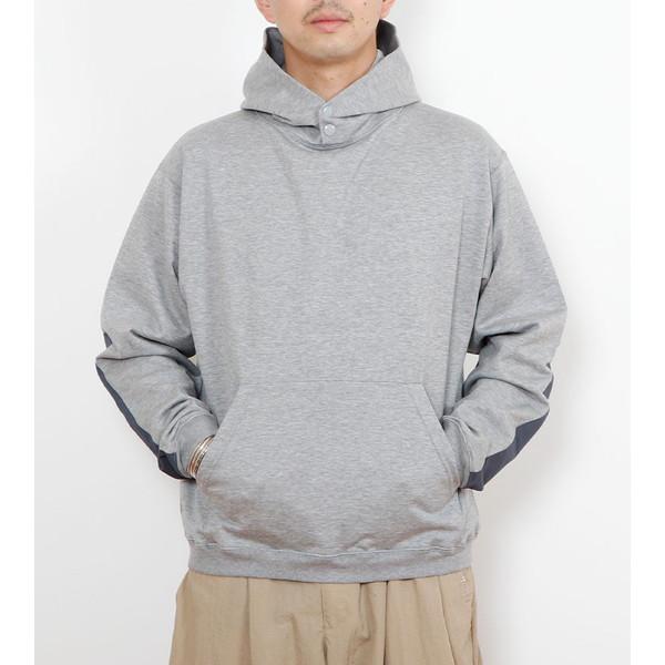 【30%OFFセール】 BAMBOO SHOOTS バンブーシュート Active Pullover Hooded Sweatshirt H.Grey
