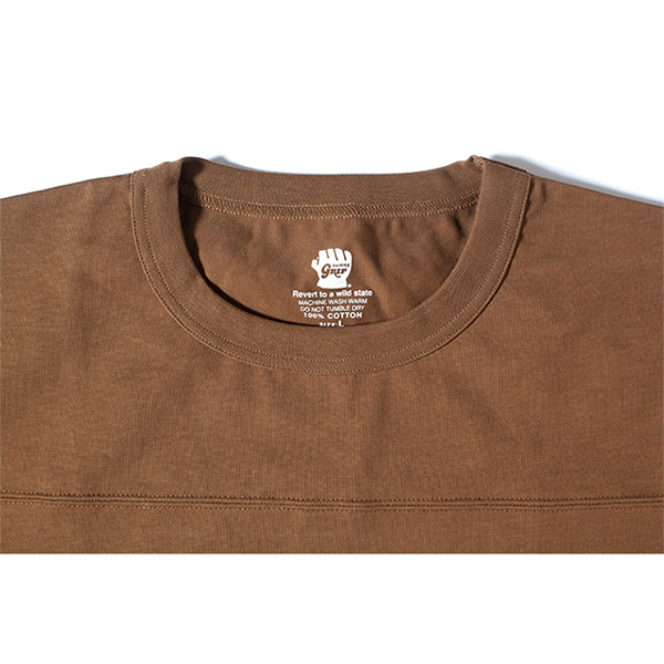 Grip Swany グリップスワニー Pocket T Shirt Md.Brown