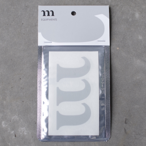 "MURACO ムラコ Reflective ""m"" Sticker"