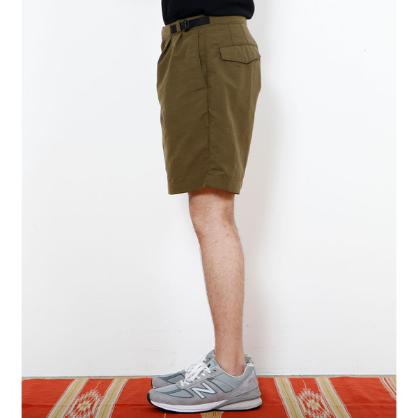 【30%OFFセール】 BAMBOO SHOOTS バンブーシュート Light Weight Gurkha Shorts Olive