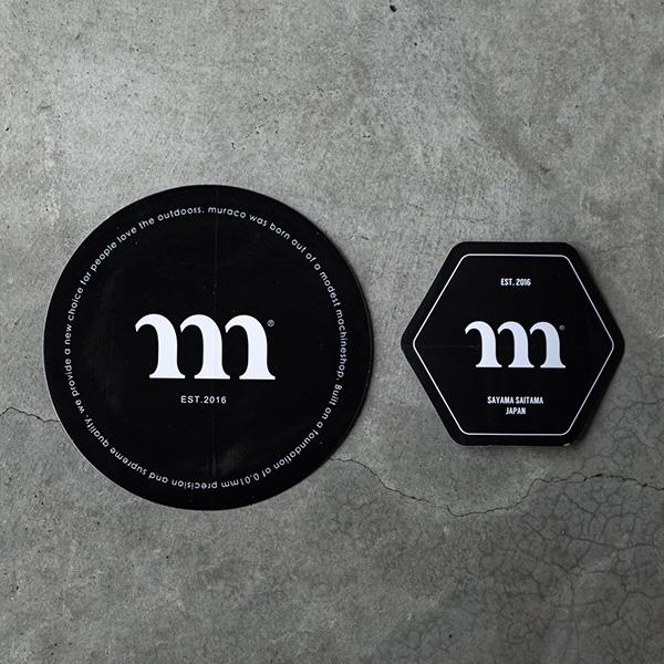 MURACO ムラコ muraco Black Sticker Set