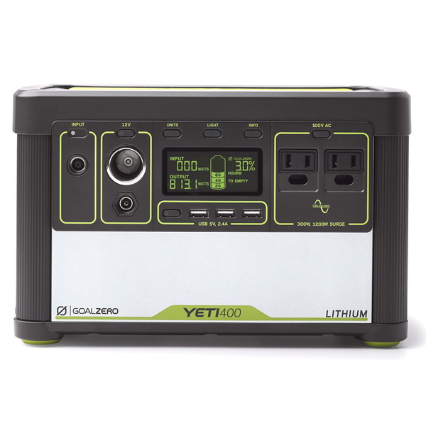 GOAL ZERO ゴールゼロ Yeti Lithium 400 (100V) Portable Power Station