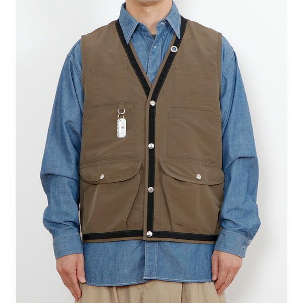 【30%OFFセール】 BAMBOO SHOOTS バンブーシュート Hiking Vest Olive