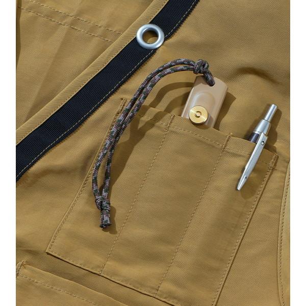 【30%OFFセール】 BAMBOO SHOOTS バンブーシュート Hiking Vest Coyote