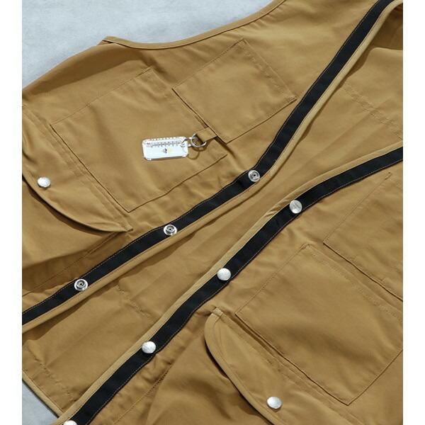 【30%OFFセール】 BAMBOO SHOOTS バンブーシュート Hiking Vest Black