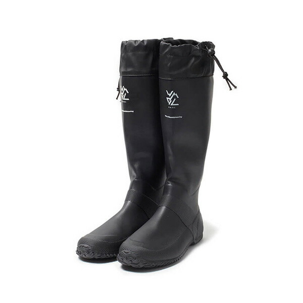 【30%OFFセール】 White Mountaineering ホワイトマウンテニアリング Packable Rain Boots Black