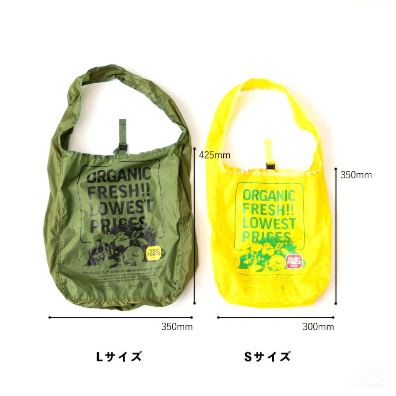 AS2OV アッソブ Eco Bag Food Force Oregon S Orange