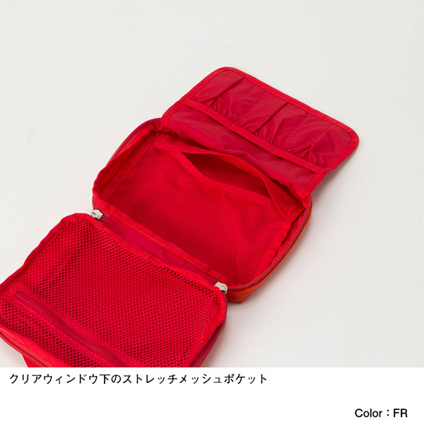 THE NORTH FACE ノースフェイス First Aid Bag ファイアリーレッド (FR)