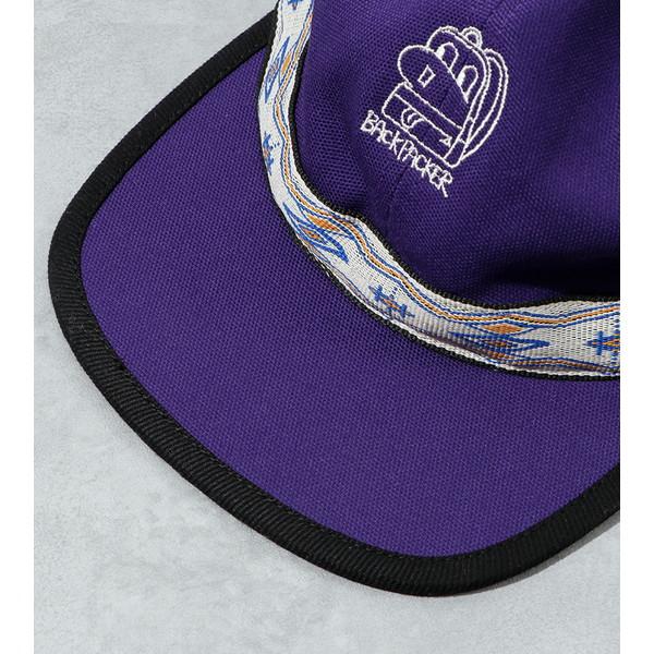 【30%OFFセール】 BAMBOO SHOOTS バンブーシュート Strap Cap Purple